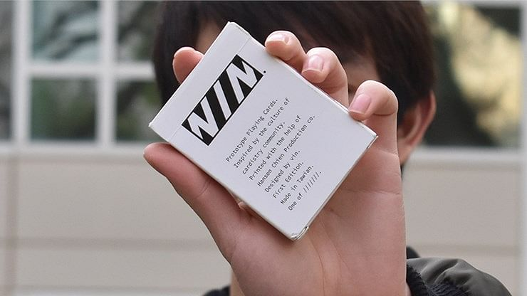 Prototype Cardistry Playing Cards - magic