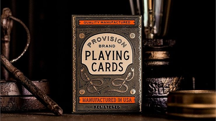 Provision Playing Cards - magic