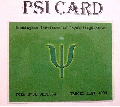 Psi Card - magic