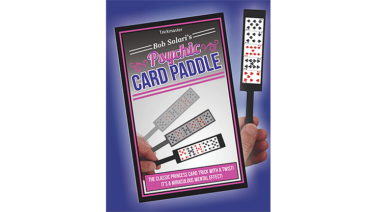 Psychic Card Paddle - magic