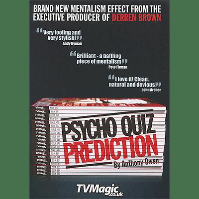 Psycho Quiz Prediction - magic