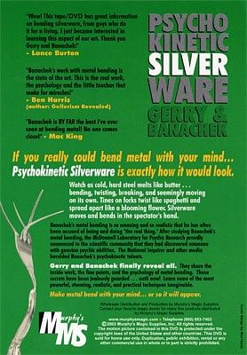 Psychokinetic Silverware