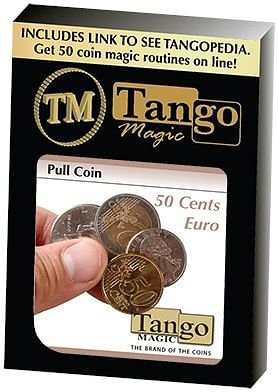 Pull Coin - 50 Cent Euro - magic