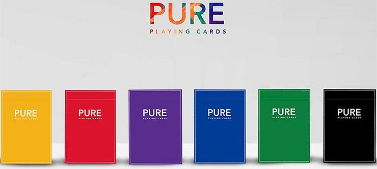 Pure  Playing Cards - magic