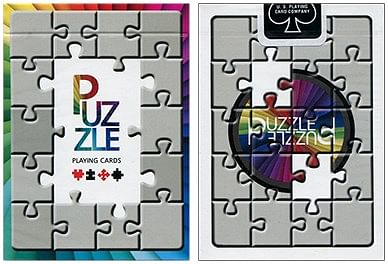 Puzzled Playing Cards - magic