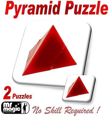 Pyramid Puzzle - magic