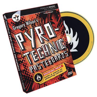 Pyrotechnic Pasteboards - magic