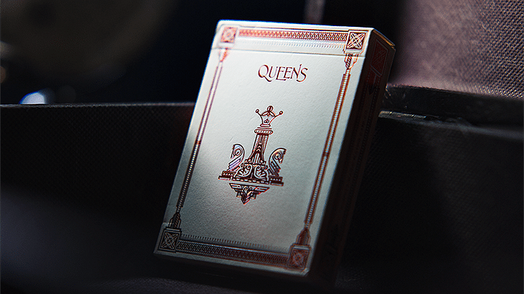 Queens Playing Cards - magic