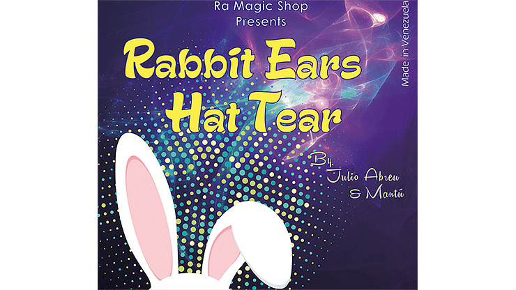 Rabbit Ears Hat Tear - magic