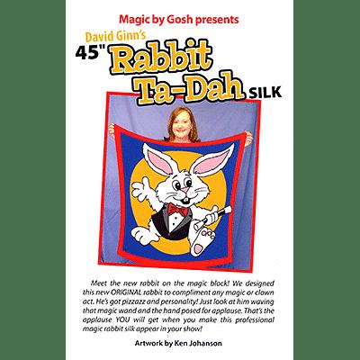 "Rabbit Ta-Dah Silk 45"" - magic"