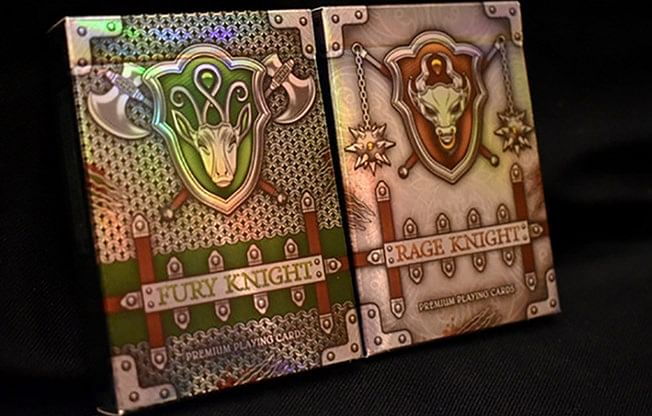 Rage Knight Playing Cards