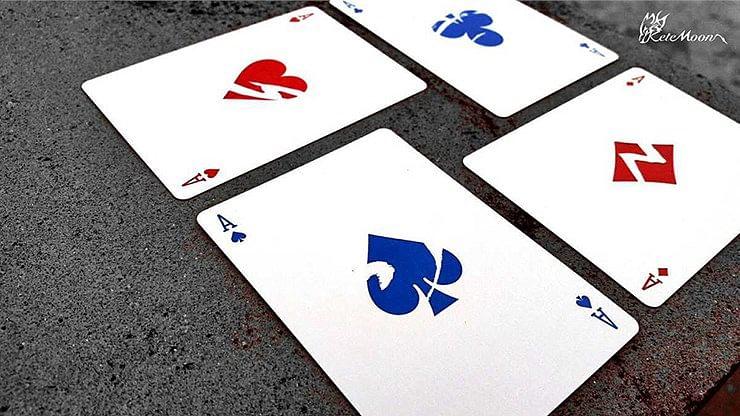 Raijin & Fujin Playing Cards