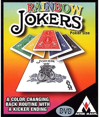 Rainbow Jokers - magic