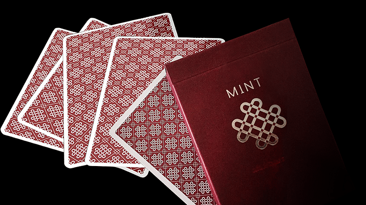 Raspberry Mint Playing Cards - magic