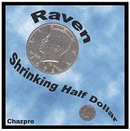 Raven Shrinking Half Dollar - magic