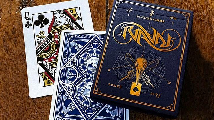 Ravn Mani Playing Cards Designed - magic
