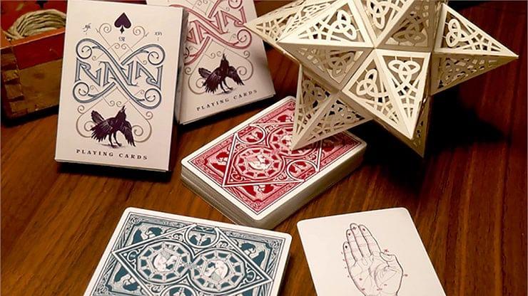 Ravn Playing Cards (Green) - magic