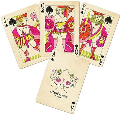 Red Hotcakes Playing Cards