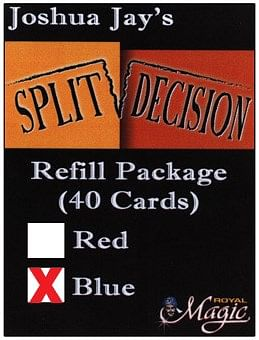 REFILL Blue for Split Decision - magic
