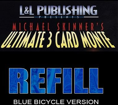 Refill Cards for 3 Card Monte - magic