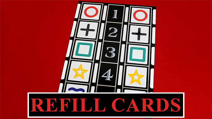 Refill Cards for Astor Mental - magic