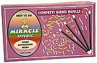Refill for Confetti Wand - magic