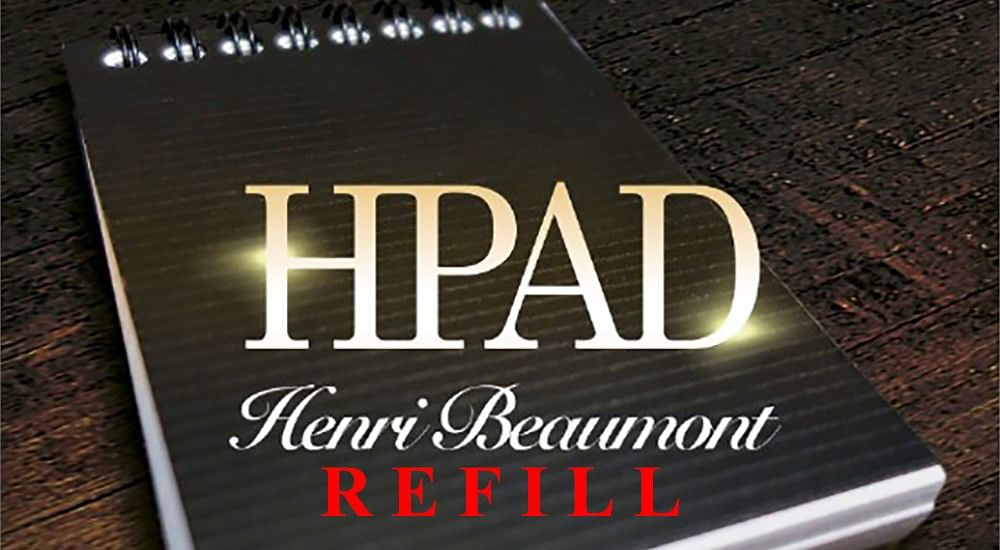 Refill for HPad - magic