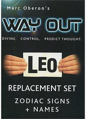 Refill for Way Out XII - Zodiac - magic