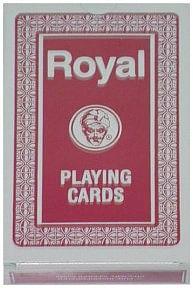 Regular Deck Royal One Way Back (Red) - magic
