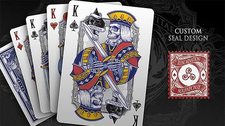 Reincarnation Classics Playing Cards poker juego de naipes cardistry