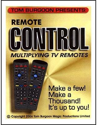 Remote Control Multiplying TV remotes - magic