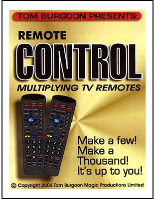 Remote Control Multiplying TV remotes - magic