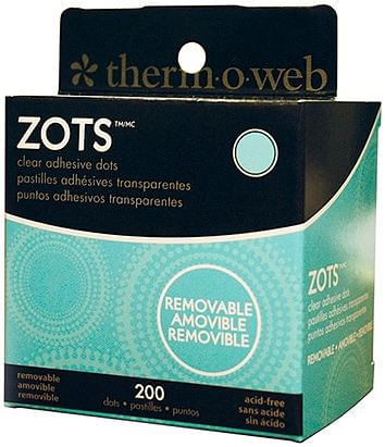Removable Sticky Dots Medium  Roll of 200 - magic