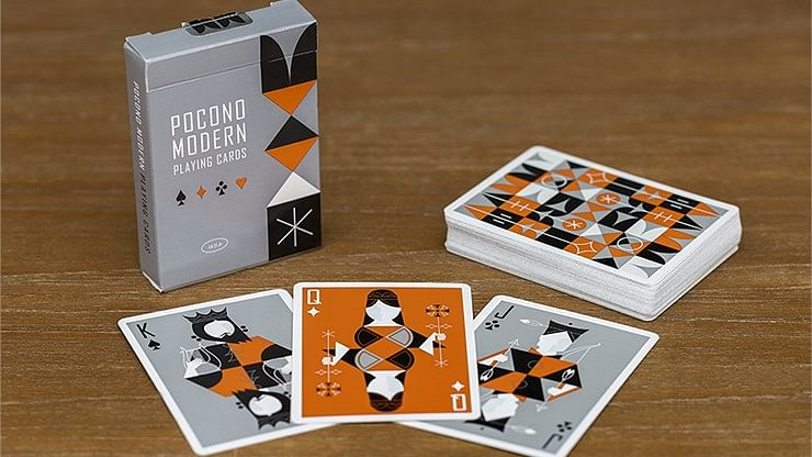 Retro Deck  Playing Cards - magic