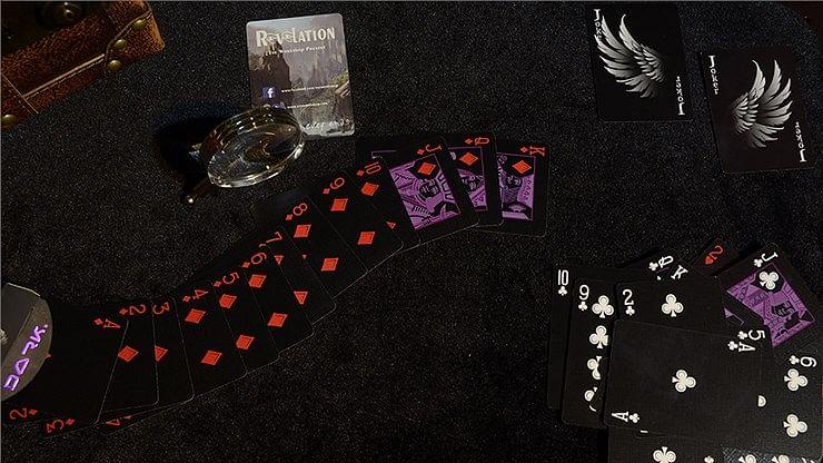 Revelation Playing Cards (Black)