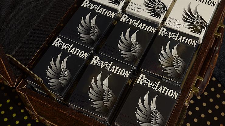 Revelation Playing Cards (Black) - magic