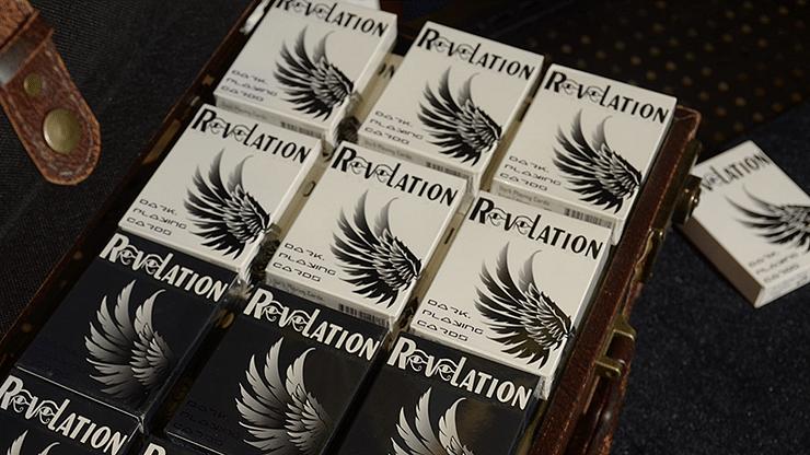 Revelation Playing Cards (White) - magic