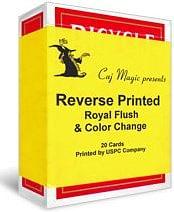 Reverse Printed Cards - magic