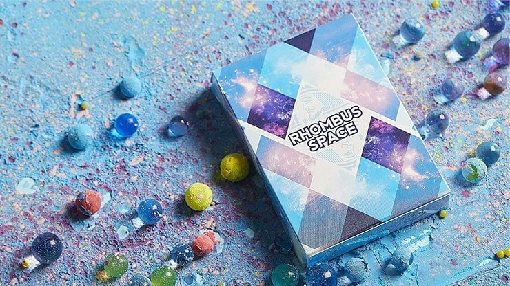Rhombus Space Playing Cards - magic