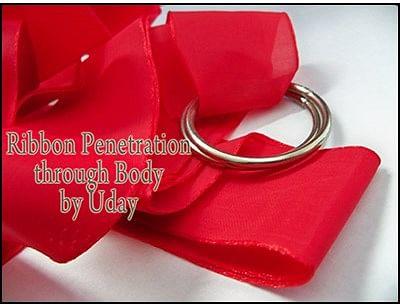 Ribbon Penetration Thru Body - magic