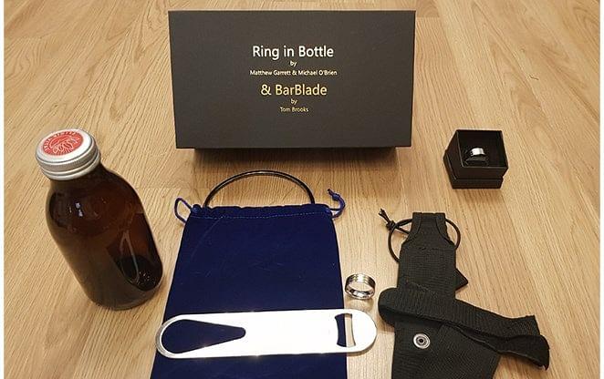 Ring in Bottle & BarBlade