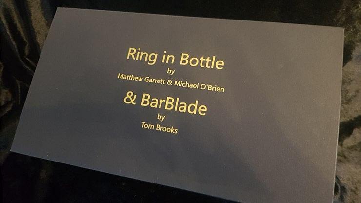 Ring in Bottle & BarBlade - magic