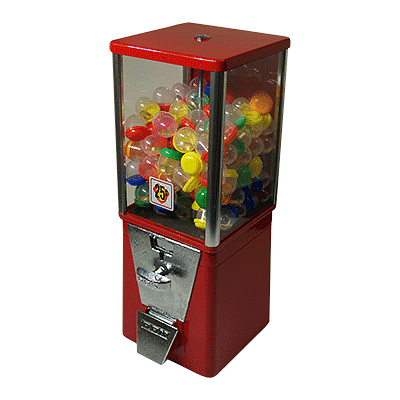 Ring in Gumball Machine - magic