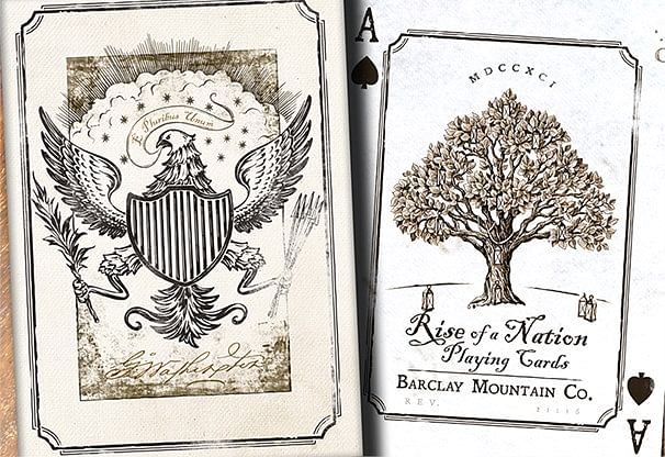 Rise of a Nation Collector's Edition Playing Cards - magic