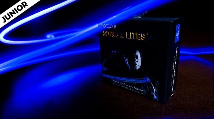 Rocco's SUPER BRIGHT Prisma Lites Pair JUNIOR (Blue)  - magic