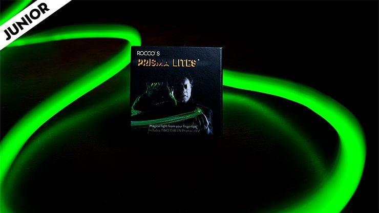 Rocco's SUPER BRIGHT Prisma Lites Pair JUNIOR (Green)  - magic