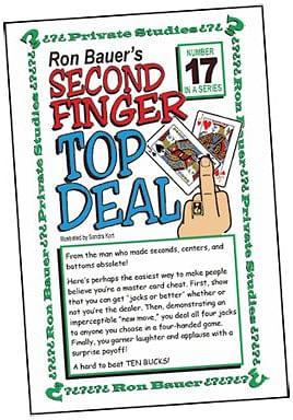 Ron Bauer Series: #17 - Second Finger Top Deal - magic