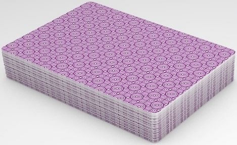 Rouge Amethyst Purple Playing Cards - magic