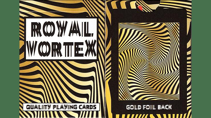 Royal Vortex Gold Foil Playing Cards Gemaco - magic