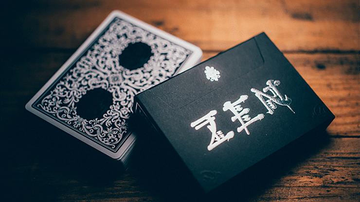Royal Zen Playing Cards (Black) - magic
